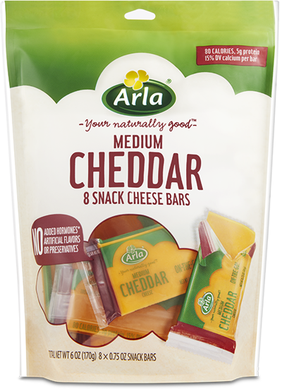 Arla Snack Cheese Cheddar | Arla US