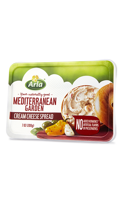 Mediterranean Garden Cream Cheese