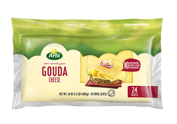 Arla Sliced Cheese Gouda