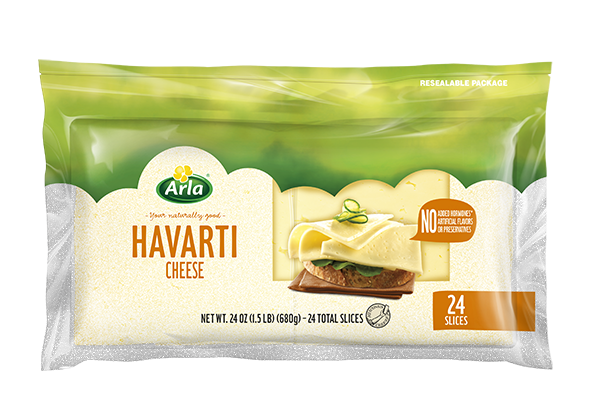 Arla Sliced Cheese Havarti