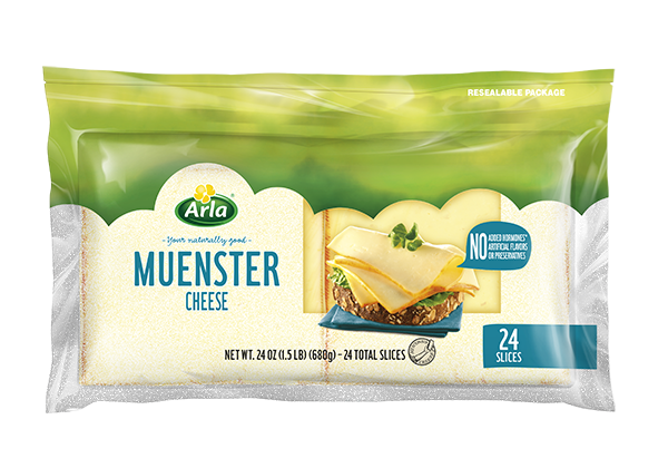 Arla Sliced Cheese Muenster